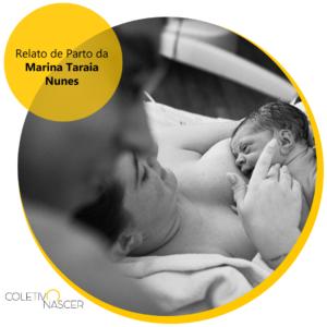 Relato da Marina Taraia Nunes