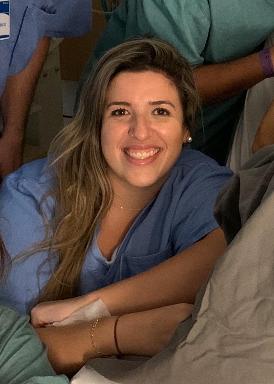 Obstetriz Fernanda Gomes
